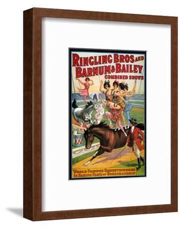 Circus Poster, 1920S--Framed Premium Giclee Print