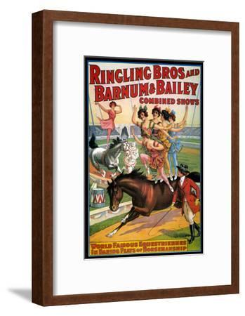 Circus Poster, 1920S--Framed Giclee Print
