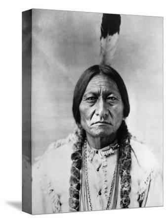 Sitting Bull (1834-1890)--Stretched Canvas Print