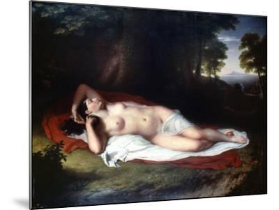 Vanderlyn: Ariadne Asleep-John Vanderlyn-Mounted Giclee Print