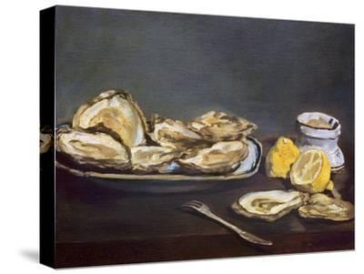 Manet: Oysters, 1862-Edouard Manet-Stretched Canvas Print
