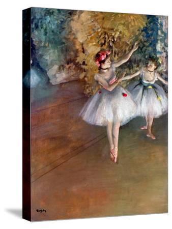 Degas: Dancers, C1877-Edgar Degas-Stretched Canvas Print