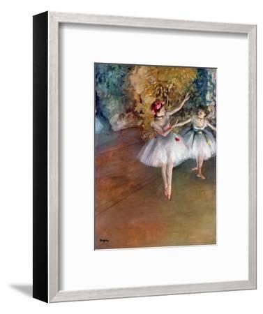 Degas: Dancers, C1877-Edgar Degas-Framed Premium Giclee Print