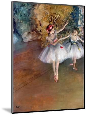 Degas: Dancers, C1877-Edgar Degas-Mounted Premium Giclee Print