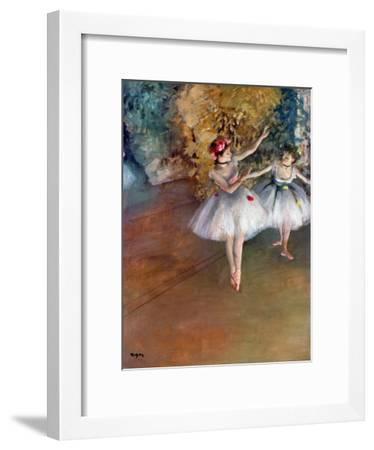 Degas: Dancers, C1877-Edgar Degas-Framed Giclee Print