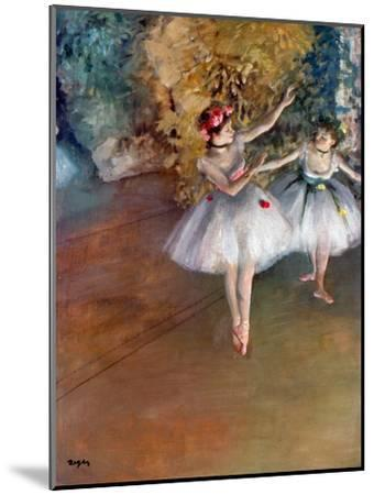 Degas: Dancers, C1877-Edgar Degas-Mounted Giclee Print