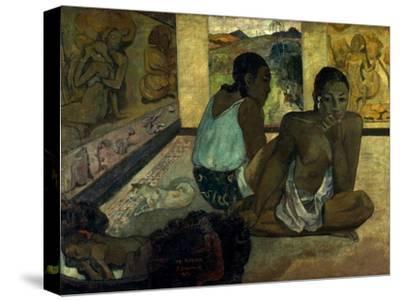 Gauguin: Te Rerioa, 1897-Paul Gauguin-Stretched Canvas Print