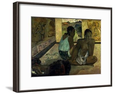 Gauguin: Te Rerioa, 1897-Paul Gauguin-Framed Giclee Print
