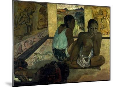 Gauguin: Te Rerioa, 1897-Paul Gauguin-Mounted Giclee Print