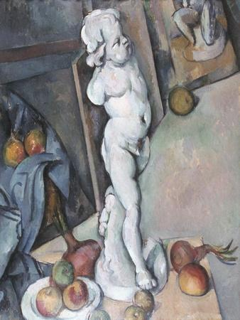 Cezanne: Sill Life, C1895-Paul C?zanne-Stretched Canvas Print