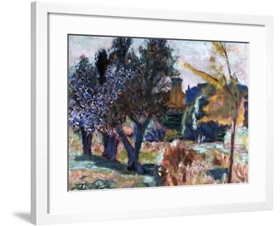Bonnard: Landscape, 1924-Pierre Bonnard-Framed Giclee Print