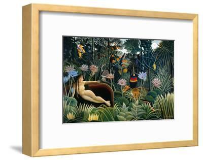 Rousseau: Dream, 1910-Henri Rousseau-Framed Giclee Print