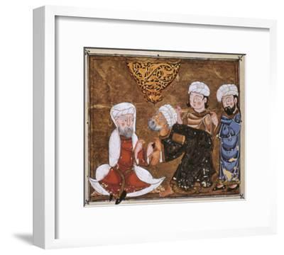 Muslim Court, 1334 A.D--Framed Giclee Print