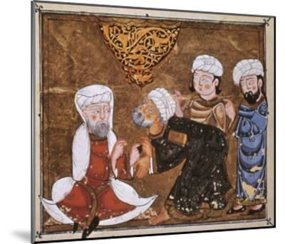 Muslim Court, 1334 A.D--Mounted Giclee Print