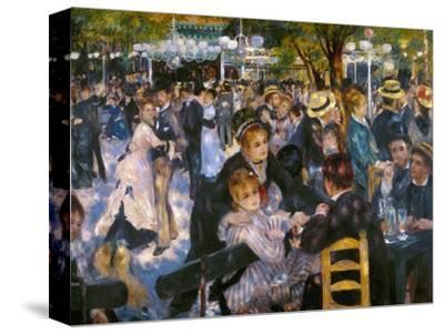 Renoir: Moulin De Galette-Pierre-Auguste Renoir-Stretched Canvas Print