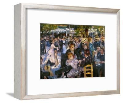 Renoir: Moulin De Galette-Pierre-Auguste Renoir-Framed Premium Giclee Print