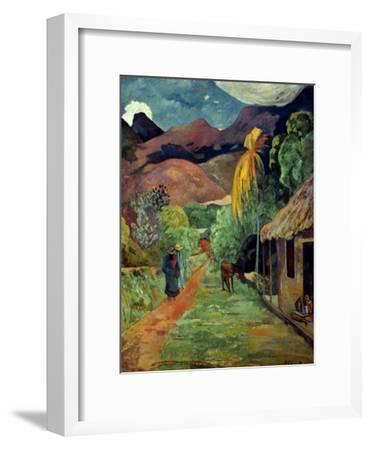 Gauguin: Tahiti, 19Th C-Paul Gauguin-Framed Giclee Print