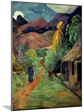 Gauguin: Tahiti, 19Th C-Paul Gauguin-Mounted Giclee Print