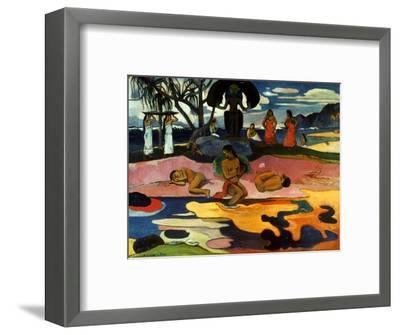 Gauguin: Day Of God, 1894-Paul Gauguin-Framed Premium Giclee Print
