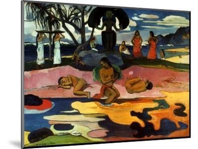 Gauguin: Day Of God, 1894-Paul Gauguin-Mounted Premium Giclee Print