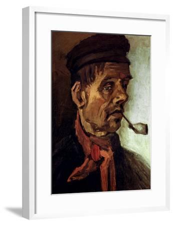 Van Gogh: Peasant, 1884-Vincent van Gogh-Framed Giclee Print