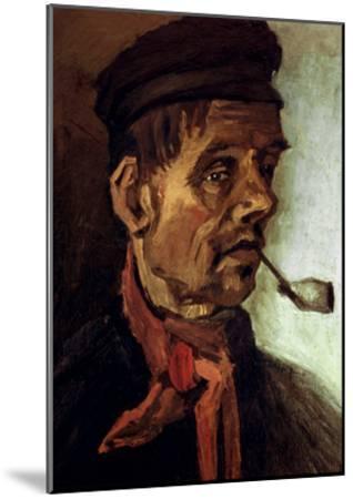 Van Gogh: Peasant, 1884-Vincent van Gogh-Mounted Giclee Print
