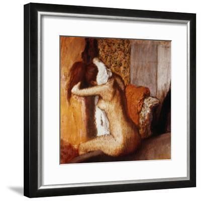 Degas: After The Bath-Edgar Degas-Framed Giclee Print
