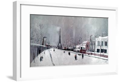 Utrillo: Eiffel Tower-Maurice Utrillo-Framed Giclee Print