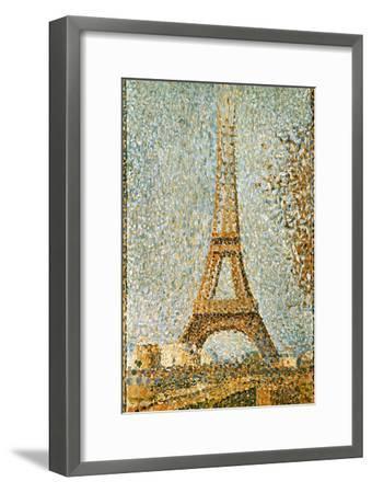 Seurat: Eiffel Tower, 1889-Georges Seurat-Framed Giclee Print