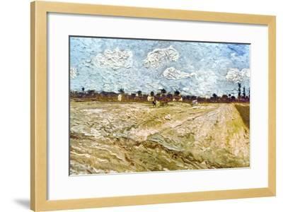 Van Gogh: Fields, 1888-Vincent van Gogh-Framed Giclee Print