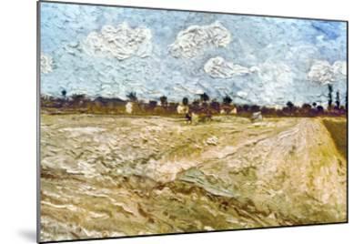 Van Gogh: Fields, 1888-Vincent van Gogh-Mounted Giclee Print