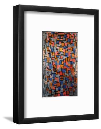 Mondrian: Composition-Piet Mondrian-Framed Giclee Print
