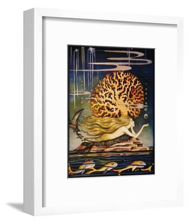 Andersen: Little Mermaid-Jennie Harbour-Framed Premium Giclee Print