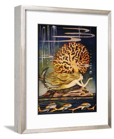 Andersen: Little Mermaid-Jennie Harbour-Framed Giclee Print