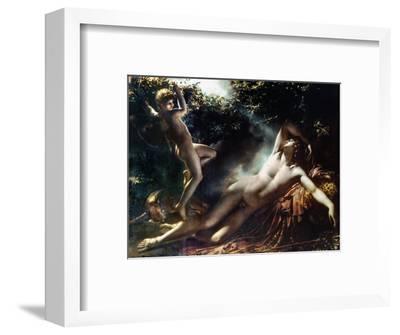 The Sleep Of Endymion-Anne-Louis Girodet de Roussy-Trioson-Framed Premium Giclee Print