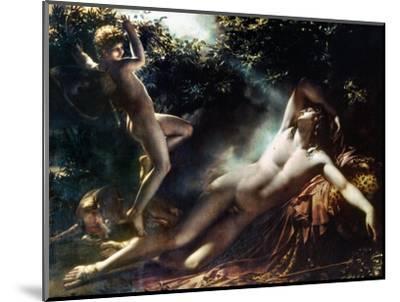 The Sleep Of Endymion-Anne-Louis Girodet de Roussy-Trioson-Mounted Premium Giclee Print
