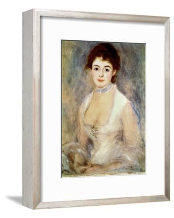 Renoir: Madame Henriot-Pierre-Auguste Renoir-Framed Giclee Print