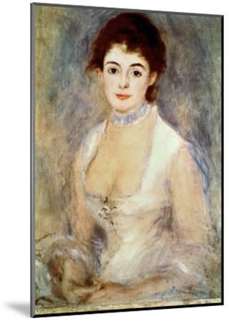 Renoir: Madame Henriot-Pierre-Auguste Renoir-Mounted Giclee Print