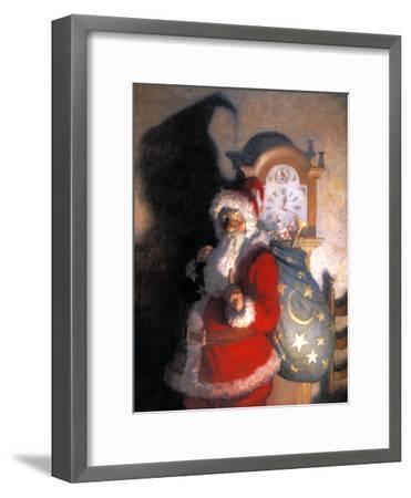 Wyeth: Old Kris (Kringle)-Newell Convers Wyeth-Framed Giclee Print
