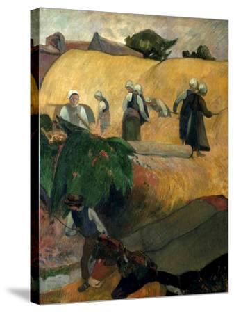 Gauguin: Breton Women-Paul Gauguin-Stretched Canvas Print