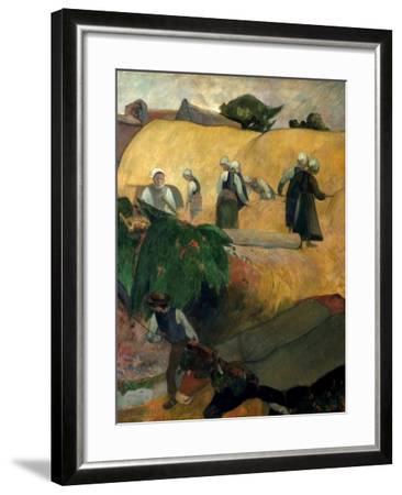 Gauguin: Breton Women-Paul Gauguin-Framed Giclee Print