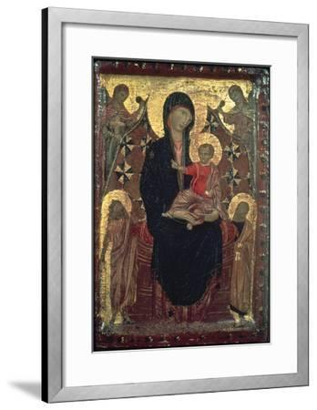 Madonna And Child-Cimabue-Framed Giclee Print