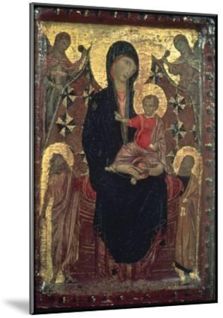 Madonna And Child-Cimabue-Mounted Giclee Print
