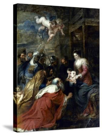 Adoration Of The Magi-Peter Paul Rubens-Stretched Canvas Print