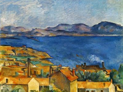 Cezanne:Marseilles,1886-90-Paul C?zanne-Premium Giclee Print