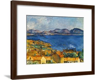 Cezanne:Marseilles,1886-90-Paul C?zanne-Framed Giclee Print