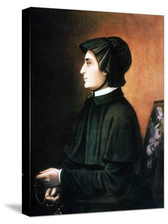 Elizabeth Ann Seton--Stretched Canvas Print