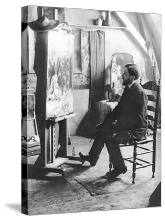 Piet Mondrian (1872-1944)--Stretched Canvas Print