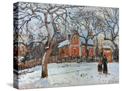 Pissarro: Trees, C1872-Camille Pissarro-Stretched Canvas Print