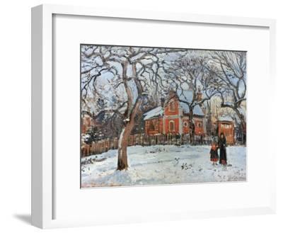 Pissarro: Trees, C1872-Camille Pissarro-Framed Giclee Print